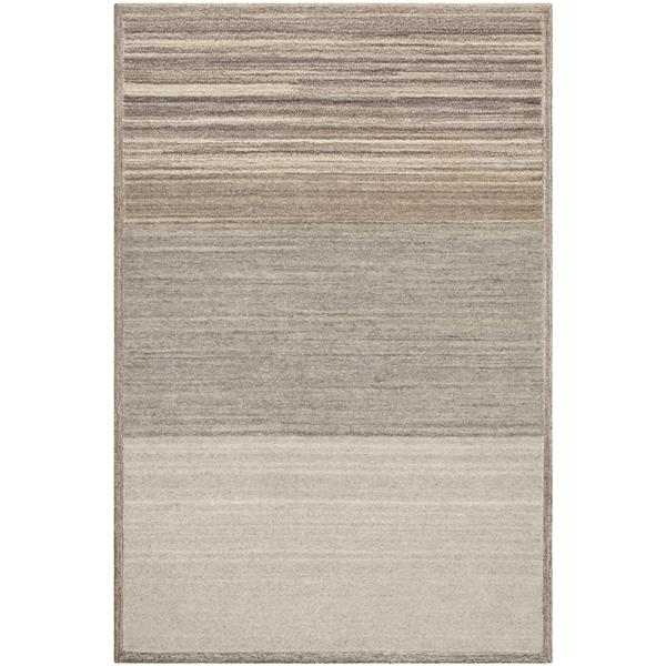 Surya Equilibrium Modern Area Rug - 8-ft x 10-ft - Rectangular - Cream/Beige