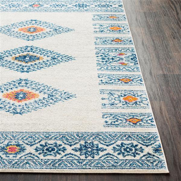 Surya Elaziz Bohemian Area Rug - 7-ft 10-in x 10-ft 3-in - Rectangular - Blue