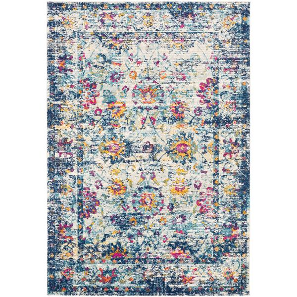 Surya Dersim Updated Traditional Area Rug - 7-ft 10-in x 10-ft 3-in - Rectangular - Multi