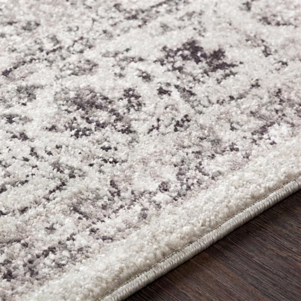 Surya Chelsea Updated Traditional Area Rug - 5-ft 3-in x 7-ft 3-in - Rectangular - Gray