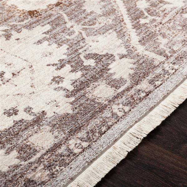 Surya Ephesians Updated Traditional Area Rug - 3-ft 11-in x 5-ft 3-in - Rectangular - Brown
