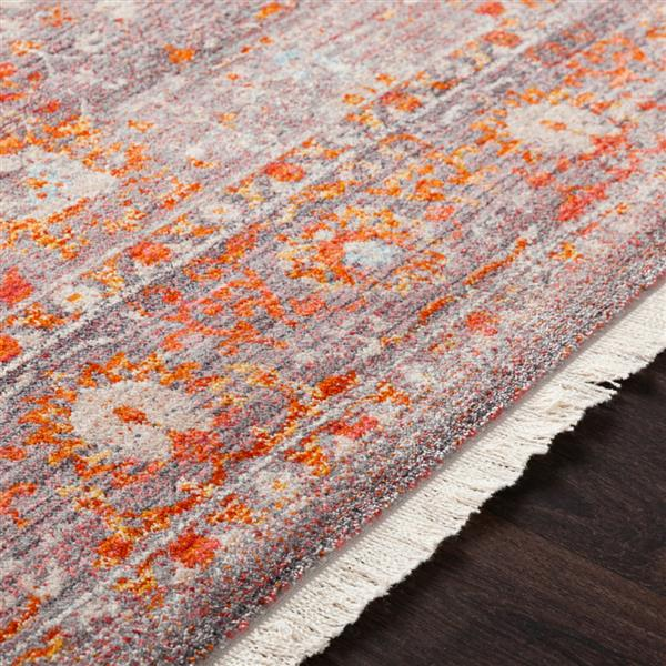Surya Ephesians Updated Traditional Area Rug - 5-ft x 7-ft 9-in - Rectangular - Pink