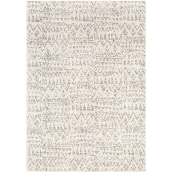 Surya Elaziz Transitional Area Rug - 7-ft 10-in x 10-ft 3-in - Rectangular - Gray