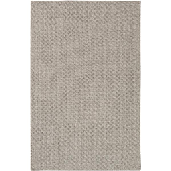 Surya Ember Indoor/Outdoor Area Rug - 6-ft x 9-ft - Rectangular - Gray