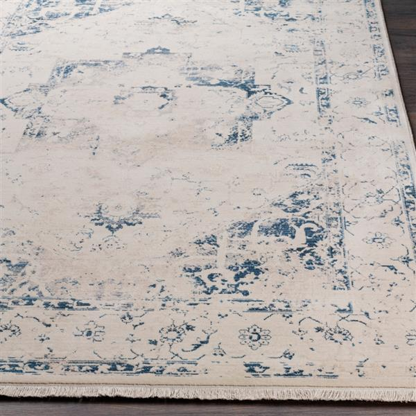 Surya Ephesians Updated Traditional Area Rug - 7-ft 10-in x 10-ft 3-in - Rectangular - Navy