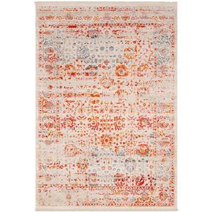 Surya Ephesians Updated Traditional Area Rug - 7-ft 10-in x 10-ft 3-in - Rectangular - Cream/Orange