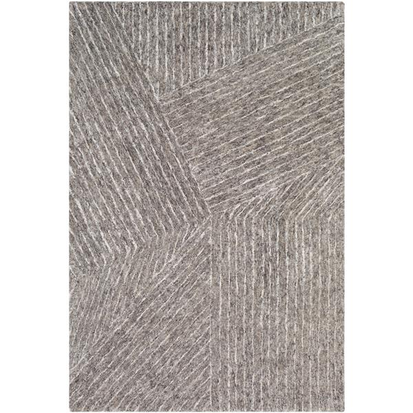 Surya Falcon Modern Area Rug - 9-ft x 13-ft - Rectangular - Brown