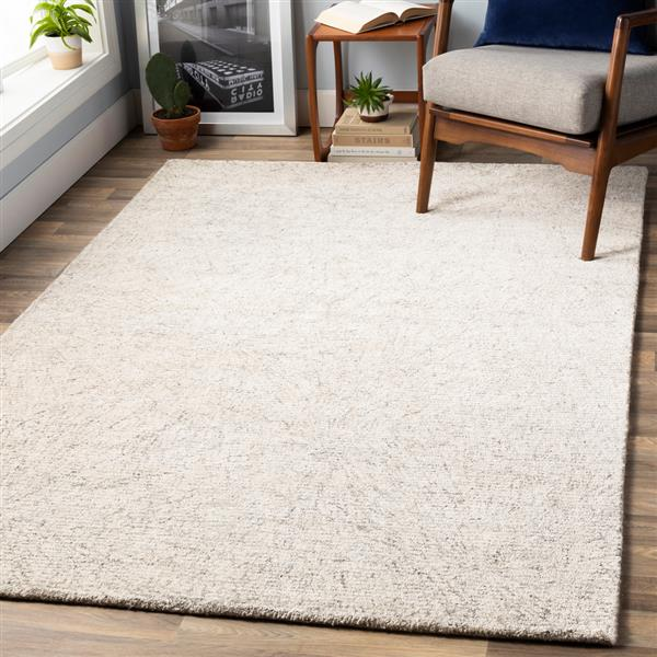 Surya Falcon Modern Area Rug - 9-ft x 13-ft - Rectangular - Khaki