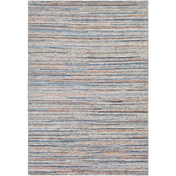 Surya Enlightenment Modern Area Rug - 2-ft x 3-ft - Rectangular - Blue