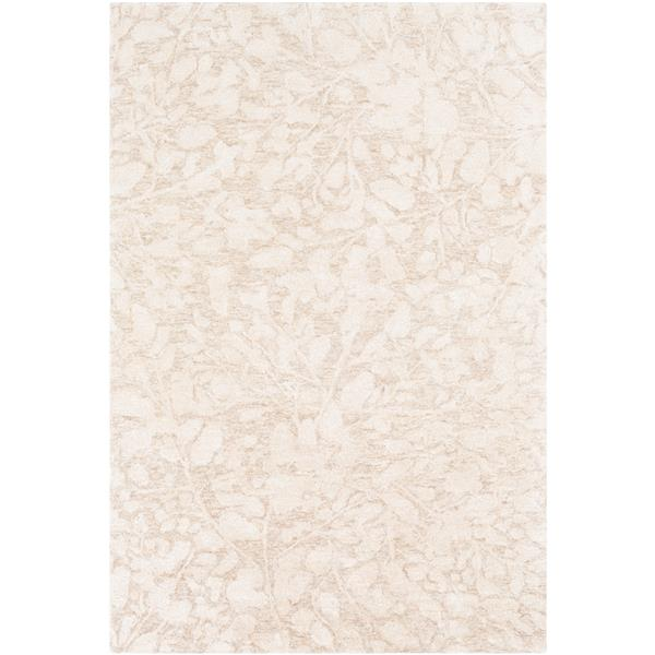 Surya Falcon Transitional Area Rug - 9-ft x 13-ft - Rectangular - Khaki