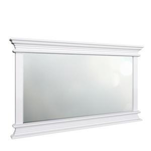 NovaSolo Halifax Landscape Mirror - White