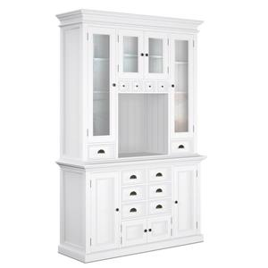 NovaSolo Halifax Kitchen Hutch Unit - White