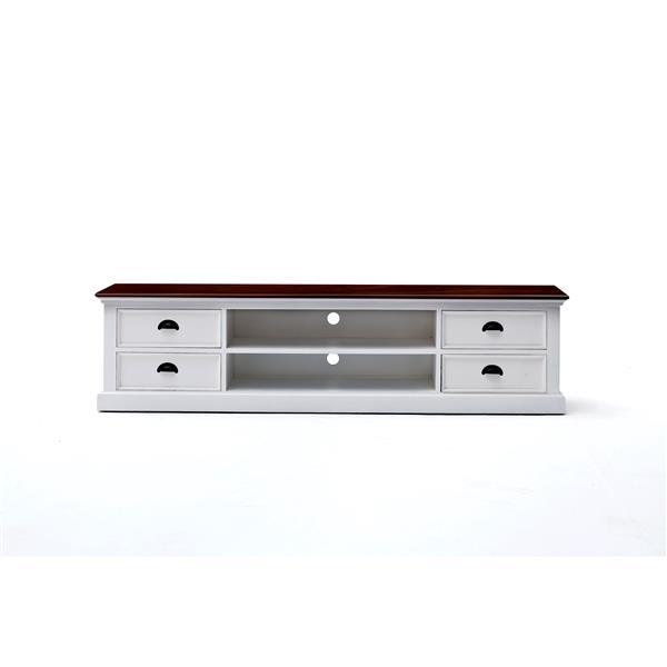 NovaSolo TV unit w/ 4 drawers