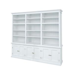 NovaSolo Halifax Triple - Bay Hutch Unit - White