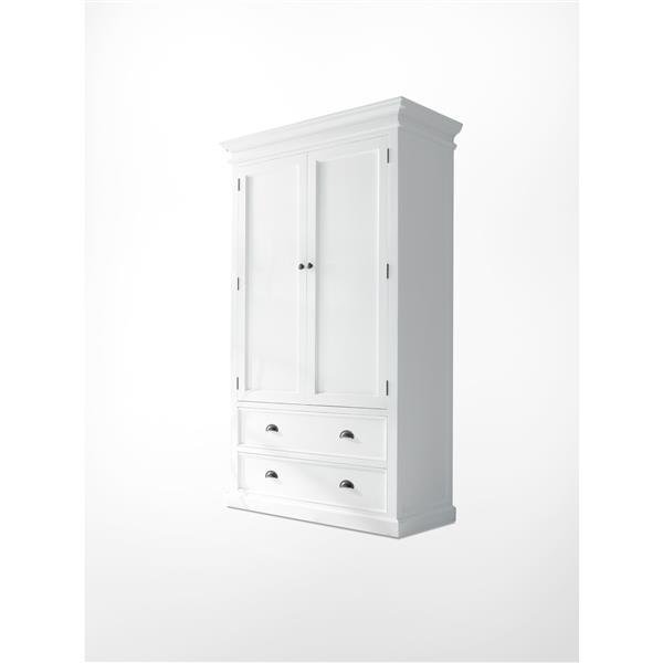 NovaSolo Halifax Wardrobe - White