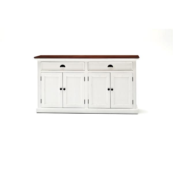 NovaSolo Halifax Accent Buffet - White/Mahogany
