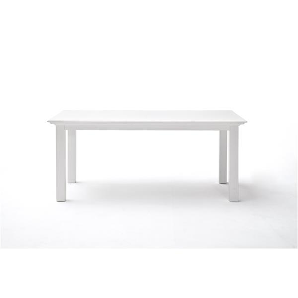 NovaSolo Halifax Rectangular Dining Table - 63-in - White