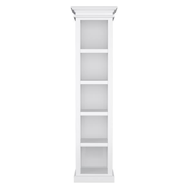 NovaSolo Halifax Bookshelf - White