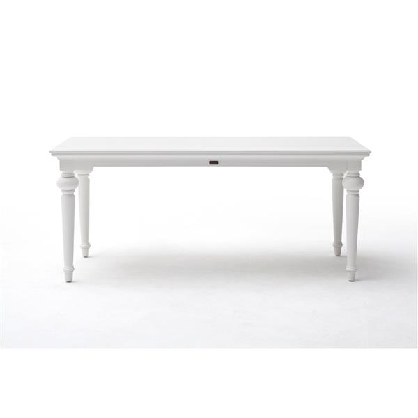 NovaSolo Provence Dining Table - 79-in - White