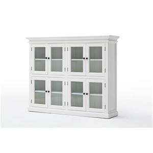 NovaSolo Halifax Pantry 8 Doors - White