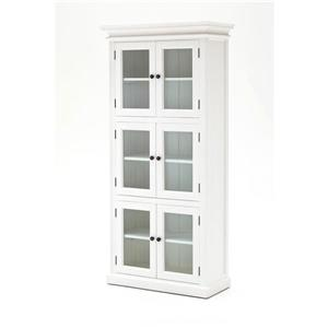 NovaSolo Halifax 3 - Level Pantry - White