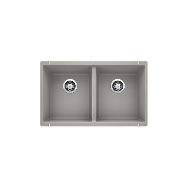 Blanco Precis U 2 Undermount Sink - Concrete Grey