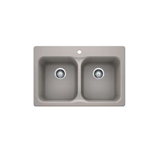 Blanco Vienna Drop-in Sink - Concrete Grey