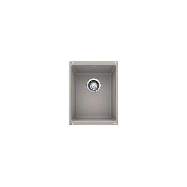Blanco Precis U Undermount Sink - Concrete Grey