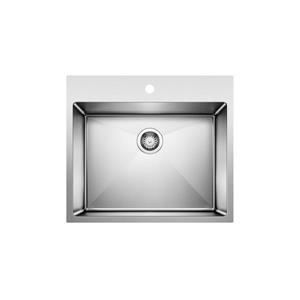 Blanco Quatrus R15 Dual Mount Laundry Sink - Stainless Steel
