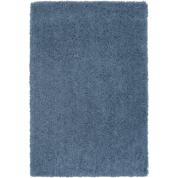 Surya Goddess Shag Area Rug - 8-ft x 10-ft 6-in - Rectangular - Blue
