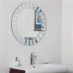 Miroir rond pour salle de bains moderne Kiara de Décor Wonderland