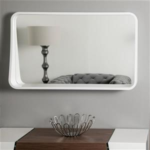 Decor Wonderland Koi Framed Wall Mirror with Shelf