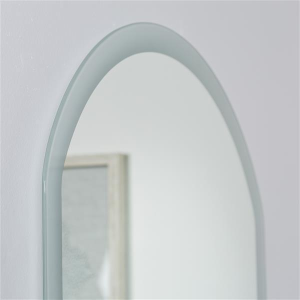 Decor Wonderland Luka Backlit LED Bathroom Mirror - 31.5-in x 23.6-in