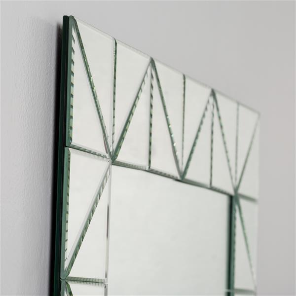 Decor Wonderland Miami Modern Bathroom Mirror - 31.5-in x 23.6-in
