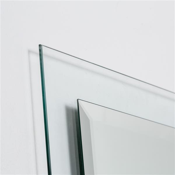 Decor Wonderland Encore Frameless Mirror - 30-in x 30-in