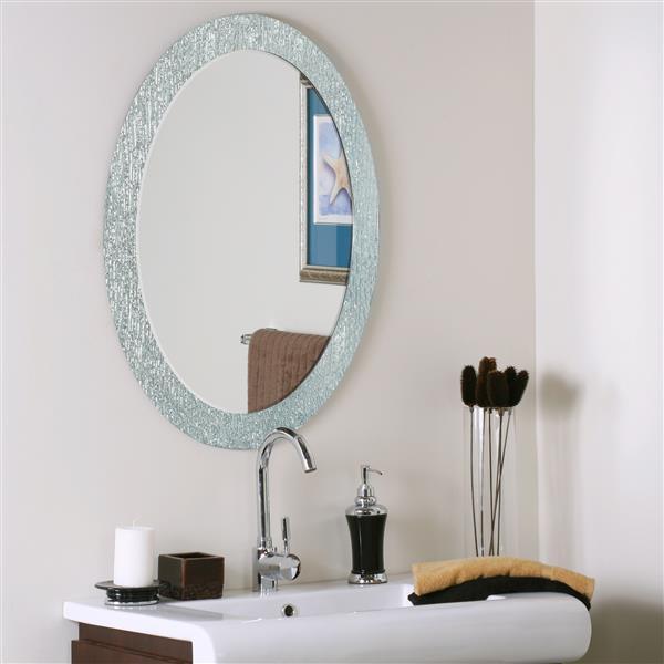 Miroir ovale Molten de  Décor Wonderland
