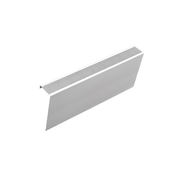 Veil Atlas XL Baseboard Heater Cover - 4-ft - Satin White Aluminum