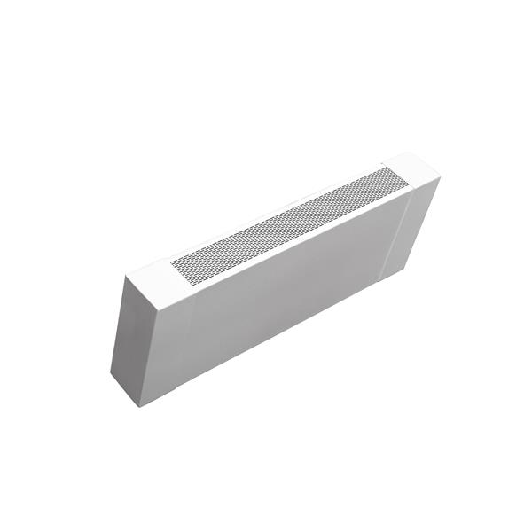 Veil Atlas XL Baseboard Heater Cover - 6-ft - Satin White Aluminum