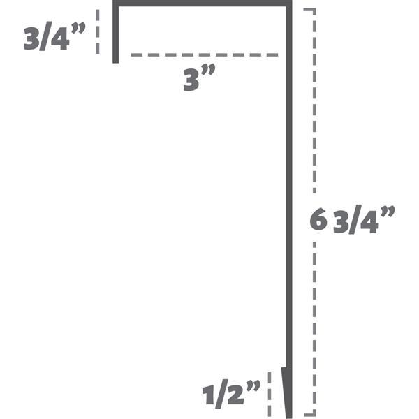 Veil Atlas Baseboard Heater Cover - 2-ft - Satin White Aluminum