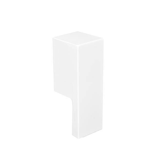 Veil Atlas XL Baseboard Heater Cover - 90° Inside Corner - 2-3/4-in - Satin White Aluminum