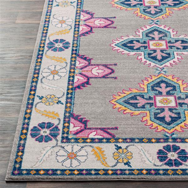 Surya Harput Updated Traditional Area Rug - 9-ft 3-in x 12-ft 6-in - Rectangular - Gray