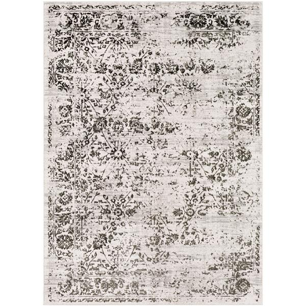 Surya Himalayan Updated Traditional Area Rug - 7-ft 10-in x 10-ft 3-in - Rectangular - Gray