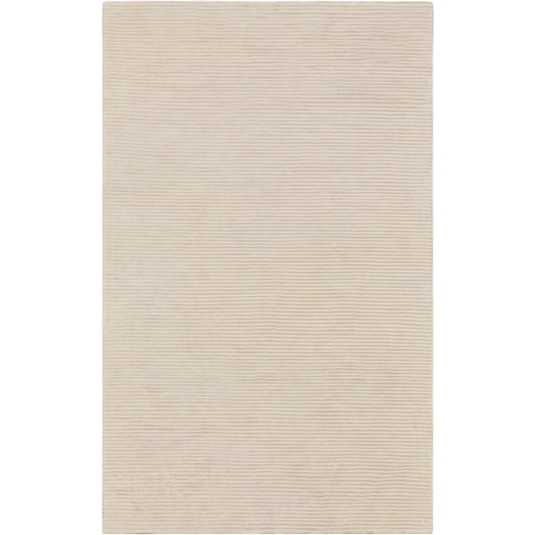 Surya Graphite Solid Area Rug - 9-ft x 13-ft - Rectangular - Cream