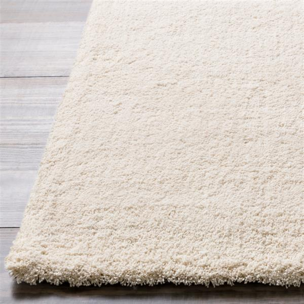 Surya Heaven Shag Area Rug - 10-ft x 14-ft - Rectangular - White