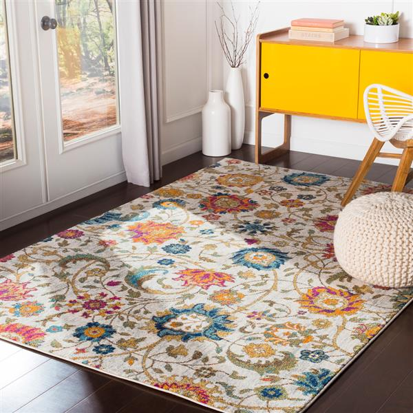 Surya Harput Updated Traditional Area Rug - 9-ft 3-in x 12-ft 6-in - Rectangular - Multi
