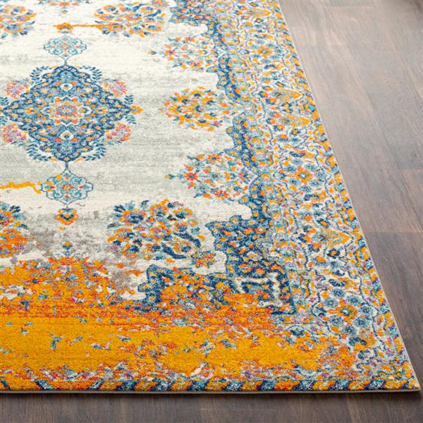 Surya Harput Updated Traditional Area Rug - 9-ft 3-in x 12-ft 6-in - Rectangular - Orange
