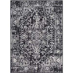 Surya Harput Updated Traditional Area Rug - 7-ft 10-in x 10-ft 3-in - Rectangular - Black