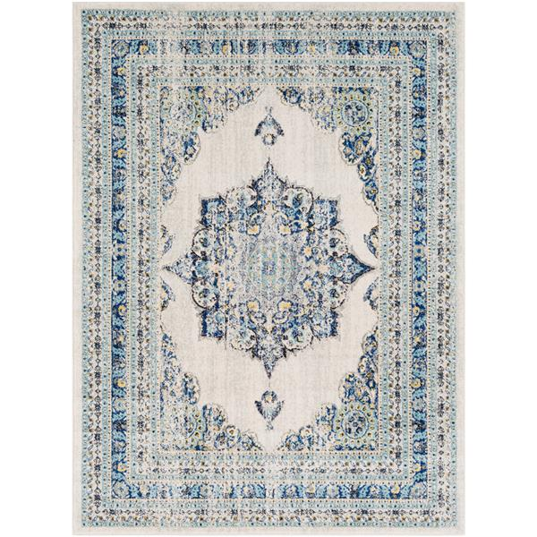 Surya Harput Updated Traditional Area Rug - 9-ft 3-in x 12-ft 6-in - Rectangular - Navy
