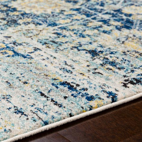 Surya Harput Updated Traditional Area Rug - 5-ft 3-in x 7-ft 3-in - Rectangular - Navy