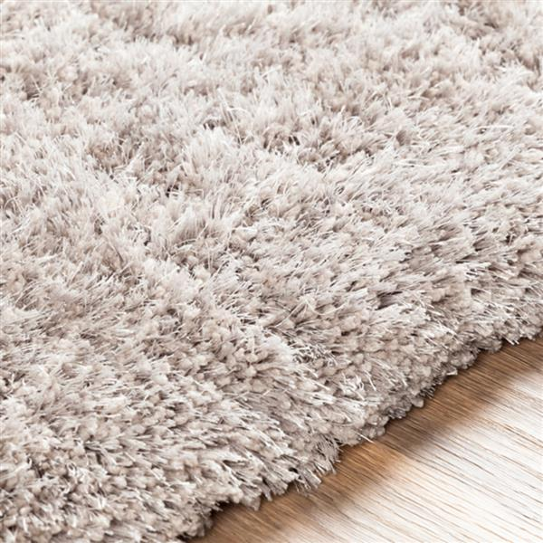 Surya Grizzly Shag Area Rug - 12-ft x 15-ft - Rectangular - Taupe